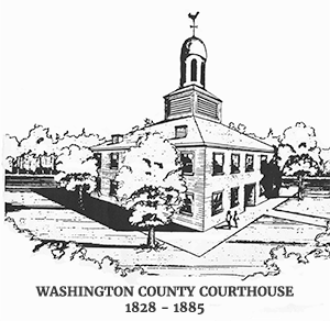 Washington County Courthouse - Salem Indiana