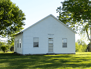 Blue River Hicksite Meeting House